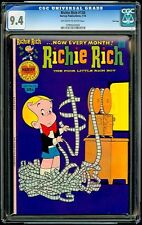 Richie Rich #138 Harvey CGC 9.4 Jan-76 – Movie Projector Mess
