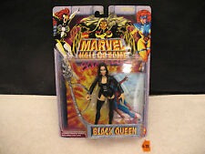 """Marvel Hall Of Fame SHE-FORCE BLACK QUEEN 5"""" Action Figure 48752 New 1996 ToyBiz"""