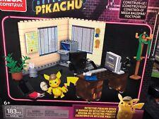 Mega Construx Pokemon Detective Pikachu's Office Buildable