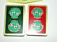 Double Deck Playing Cards World Bridge Champ Olympiads 1991 Memphis Int'l Trials
