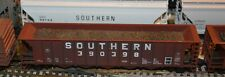 HO scale Roundhouse Southern 50' uncovered coal hopper #390398 train