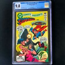 DC Comics Presents #40 (DC 1981) 💥 CGC 9.8 White Pages 💥 Superman Comic
