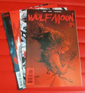 Wolf Moon 1 2 3 and 4 DC/Vertigo 2014 Bunn