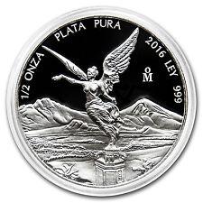 2016 Mexico 1/2 oz Silver Libertad Proof (In Capsule) - SKU #98614