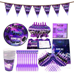 Gaming Party Supplies Battle Royale Fortnite NEW Style Birthday Party Supplies