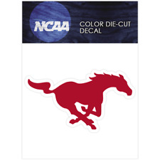 SMU Mustangs Primary Logos Logo NCAA Die Cut Vinyl Car Sticker Bumper Window