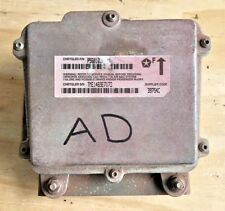 1998-2000 Jeep Wrangler TJ AIR BAG CONTROL MODULE AD Airbag P56010105AD