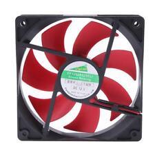 12cm 120mm DC12V 1800RPM 120x120x25mm 2 Pin CUP Cooling Fan Case for PC Computer