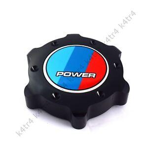 ALUMINUM BLACK ANODIZED OIL FILLER CAP COVER FITS BMW 3 4 5 6 7 SERIES POWER