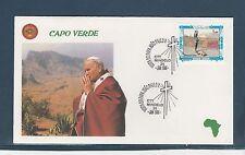 visite du Pape Jean-Paul II 1990  Cap Vert Capo Verde