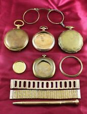 Antique Gold Filled Pocket Watch / Watch Cases & More Scrap 240 Grams