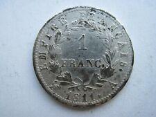 1 franc argent napoléon Ier 1811 A