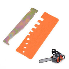 2pcs/Set Chainsaw Chain Tools Quick-Check Gauge & Bar Groove Cleaner Accessories