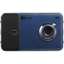 GiiNii - Dash Cam - HD Video Camera with 2.7-Inch LED Backlit - (Blue / Black)