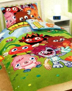New Moshi Monsters Duvet - Single Cover For Duvet Plus Pillow Case  200 x 135cms