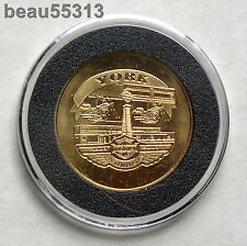 """""""OFFICIAL"""" HARLEY DAVIDSON 2003 100th ANNIVERSARY """"YORK""""  FACTORY COIN"""