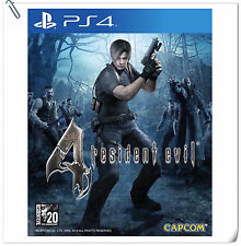 PS4 Resident Evil 4 SONY PLAYSTATION Capcom Action Games