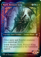 Narfi, Betrayer King SHOWCASE FOIL, Kaldheim, MTG, NM/M PREORDER