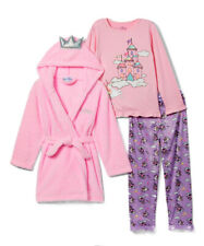 Freestyle Revolution Baby Girl's 3 Pieces Long Sleeve Pajama Set