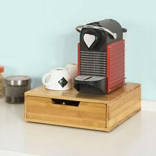 SoBuy® Kaffeekapsel Box,Kapselspender, Kapselhalter, Bambus,FRG70-N
