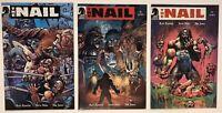 The Nail 1 2 4 Rob Zombie Steve Niles Nat Jones Wrestler 2004 Dark Horse Comics