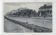 THE BOULEVARD AS IT WILL BE, GALVESTON: Texas USA postcard (C30309)