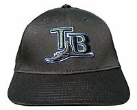 New Era MLB Classic Tampa Bay Devil Rays Hat - Black