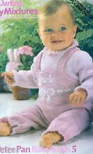 Knitting PATTERNS Baby Toddler Dresses Rompers Sweaters Pants Skirts Birth-4 yrs