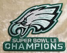 "Philadelphia Eagles  Super Bowl LII Champions 3.5"" Embroidered Patch!"