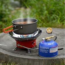 Mini Stove Portable Burner Butane Gas Windproof Cooker Camping Outdoor Hot