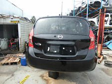 GENUINE NISSAN NOTE 2016 Rear Back Section Tailgate Bumper Tail Lights Black