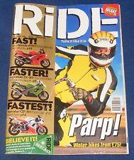 RIDE MAGAZINE DECEMBER 1997 - PARP!