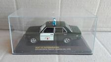 "DIE CAST ""SEAT 131 SUPERMIRAFIORI AGRUPACION DE TRAFICO GUARDA CIVIL 1979"" 1/43"