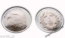 TURKEY 2014 1 Lira EAGLE
