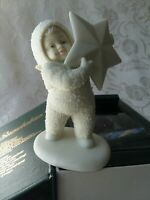 """Winter Tales Snowbabies """"I Found the Biggest Star of All""""  Dept 56"""