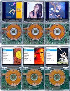 Apple iPod Classic Video 5th 5.5 & 7th Gen Transparent Clear 80GB 128GB 256GB