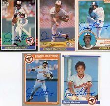 Orioles Dennis Martinez signed 1983 Topps Card