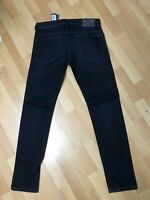 NWD Mens Diesel THAVAR STRETCH DENIM R4LN8 DARK Blue Slim W30 L32 H6 RRP£160