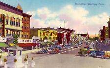 MAIN STREET, DANBURY, CT.Feinsons, Macks, Phillips Shoes,  Melilto Beauty Salon