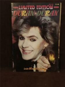 Duran Duran Limited Edition #20 Into 1985 With A Bang Fold Out Cover Poster EUC