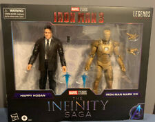 Marvel Legends Infinity Saga Iron Man 3 Happy Hogan and Mark 21 ?Midas? set