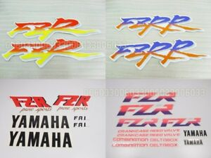 Motorcycle Fairing Sticker Decal for Yamaha FZR 125 250 400 600 1000 FZRR #33