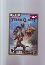 TITAN Quest-STEELBOOK tin metal caso Edition-Juego PC-rápido post-Completo