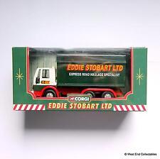 Corgi Eddie Stobart Ltd - Boxed Ford Cargo Box Van Model Truck - 1:64 #59601
