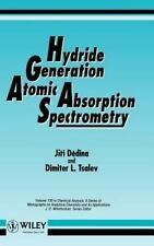 Hydride Generation Atomic Absorption Spectrometry (Chemical Analysis: -ExLibrary