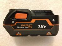 New Ridgid R840083 18V 18 Volt Hyper X4 Lithium Ion 3.0Ah Battery Li-ion
