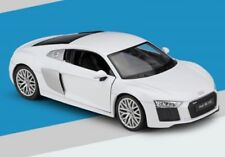 welly 1:24 Audi R8 V10 Diecast Metal Model Car New in Box White