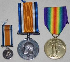 W.W.1 CEF Canadian Medals Pair 14th Bn.