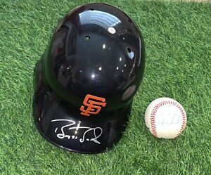 Barry Bonds San Francisco Giants Signed Helmet Baseball PSA Auth