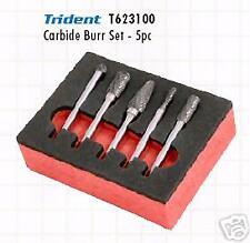 TRIDENT 5 pezzi Fresa acciaio smerigliatura Set